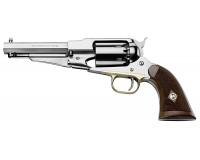 Revolver poudre noire Pietta 1858 Remington sheriff inox cal 44