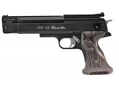 Pistolet Weihrauch HW 45 Black star