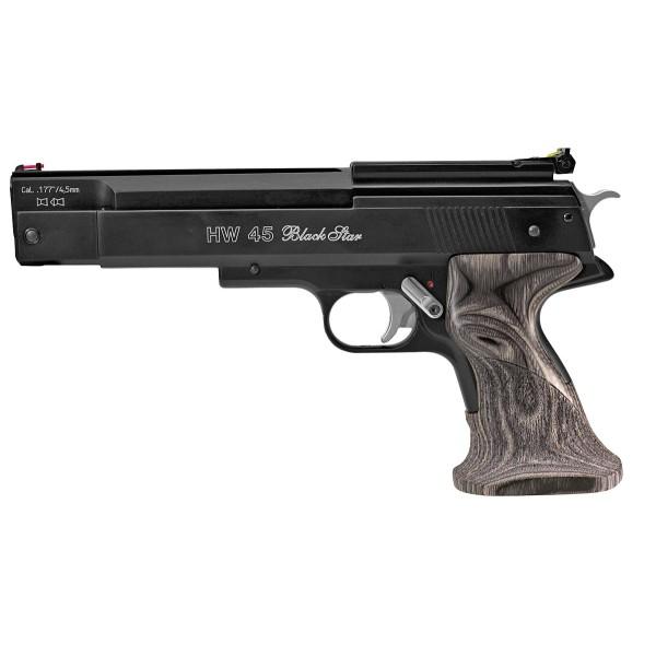 Pistolet weihrauch hw 45 black star armurerie pascal paris - Pistolet air comprime ...