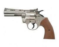 Revolver d'alarme Bruni python chromé 9mm