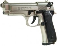 PISTOLET BRUNI 92 chromé cal 9mm PA