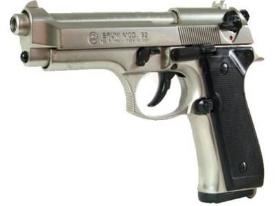 PISTOLET BRUNI 92 chromé cal 9mm PA