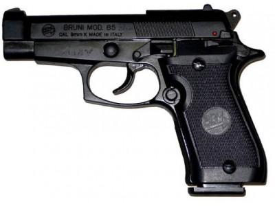 PISTOLET BRUNI - KIMAR Mod. 85 bronzé cal 9mm PA