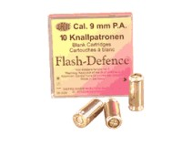 Munitions alarmes Cal. 9 mm PA Flash D&eacute;fense