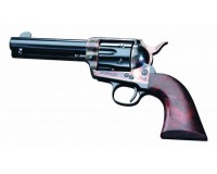 Revolver PIETTA 1873 SAA cal.380 / 9m/m R  blanc canon de 4 pouces 3 / 4