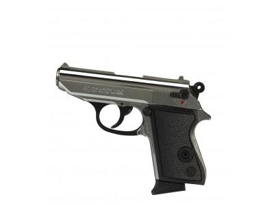 Pistolet d'alarme Lady Kimar chromé calibre 9mm PA