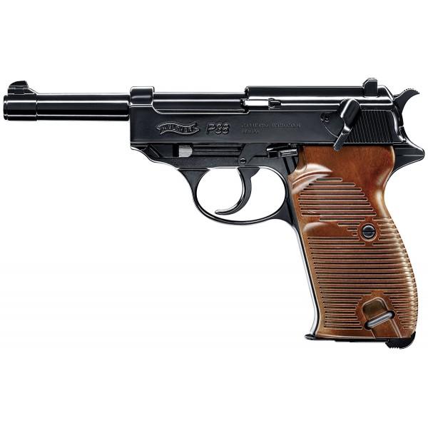 pistolet p38 umarex co2 billes acier cal 4 5mm armurerie pascal paris. Black Bedroom Furniture Sets. Home Design Ideas