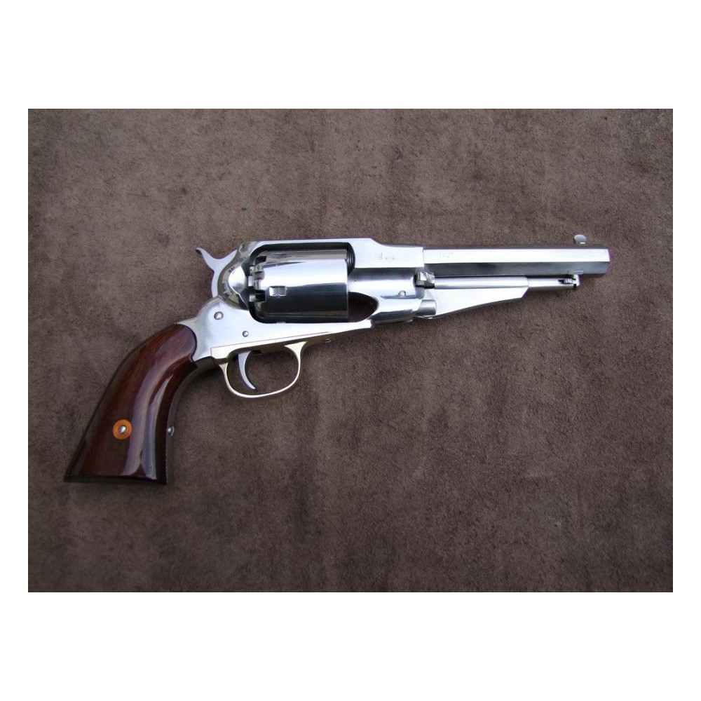 revolver uberti mod sheriff 1858 new army inox armurerie pascal paris. Black Bedroom Furniture Sets. Home Design Ideas