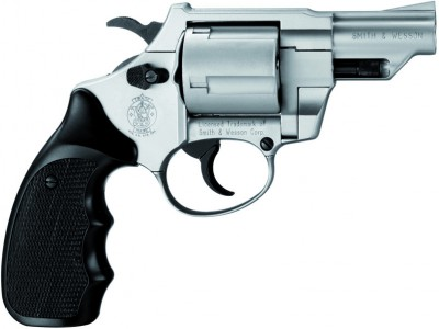 Revolver SMITH-WESSON COMBAT C380 Nickelé cal.9mm R UMAREX