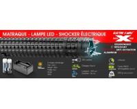 Matraque électrique Lampe LED XTREM SHOCK