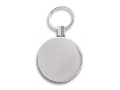 Porte-clefs acier inox extensible chromé 70cm