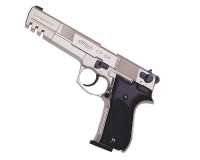 UMAREX WALTHER CP 88 6&quot; CHROME CAL 4,5MM (PLOMBS)