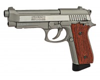 SWISS ARMS SA P92 STAINLESS 4,5 mm culasse mobile
