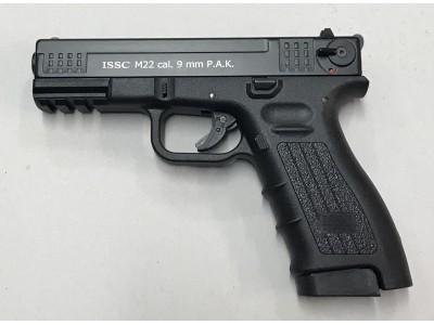 PISTOLET D'ALARME ISSC M22 NOIR Cal. 9mm PAK