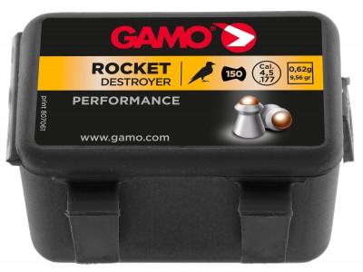PLOMBS GAMO ROCKET CHASSE - 4,5mm