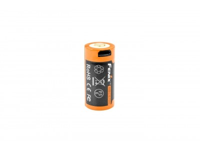 BATTERIE /ACCU  RECHARGEABLE USB FENIX 16340 700mAh