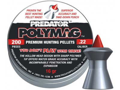 PLOMBS PREDATOR POLYMAG- 5,5mm
