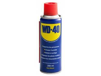 LUBRIFIANT DEGRIPPANT WD40 EN SPRAY 200ml
