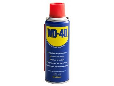 LUBRIFIANT DEGRIPPANT WD40 EN SPRAY 200ml