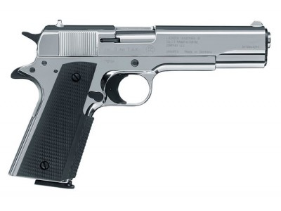 COLT GOVERNMENT 1911 CHROMÉ CAL 9PAK