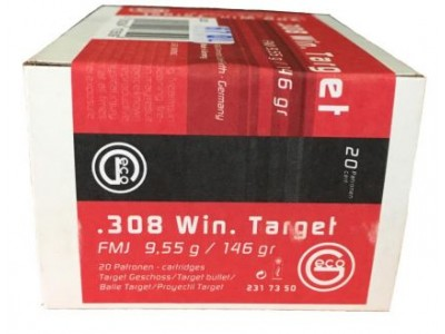 308 WIN TARGET FMJ GECO