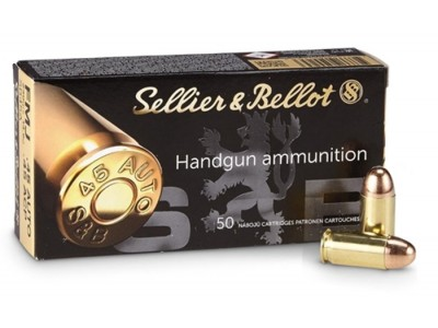 45 ACP FMJ Sellier & Bellot