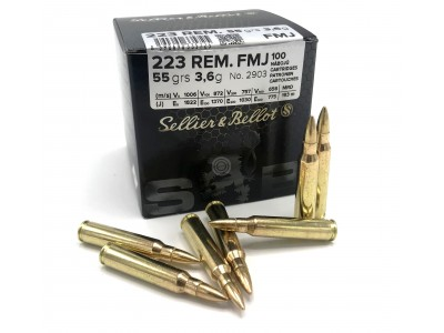 223 REM FMJ Sellier & Bellot