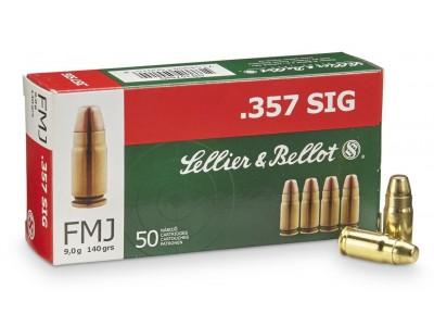 357 SIG Sellier & Bellot (boîte de 50)