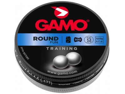 PLOMBS GAMO GPL ROUND - 4,5mm