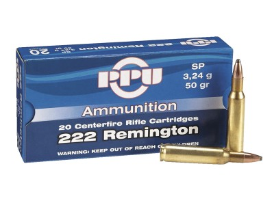 CARTOUCHE 222 remington PARTIZAN Soft Point