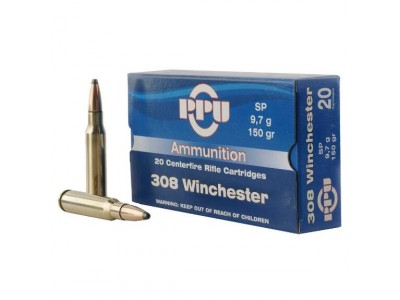 CARTOUCHE 308 winchester PARTIZAN Soft Point