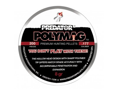PLOMBS 4.5mm PREDATOR POLYMAG POINTE POLYMERE