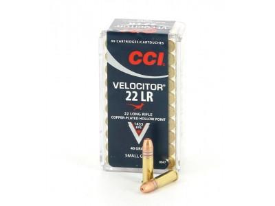 CARTOUCHES CCI VELOCITOR 22LR