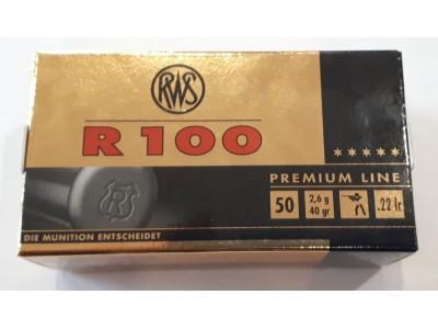 CARTOUCHES RWS R100 22LR