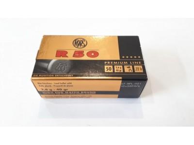 CARTOUCHES RWS R50 22LR
