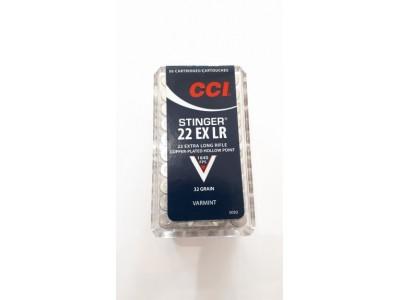 CARTOUCHES CCI STINGER 22lr