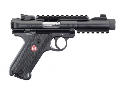 RUGER MARK IV  TACTICAL BRONZE 22LR FILETÉ