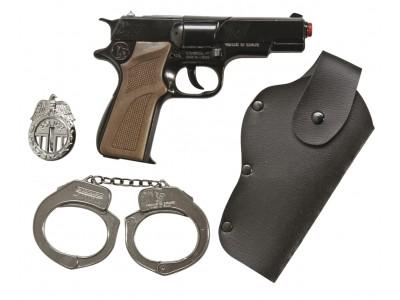 PANOPLIE PISTOLET FACTICE POLICE SPÉCIAL FORCES