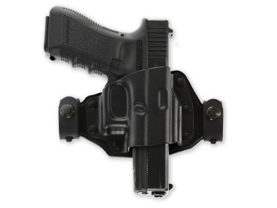 HOLSTER GALCO KYDEX/CUIR NOIR POUR GLOCK