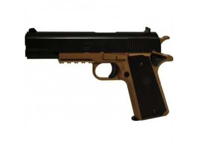 Pistolet airsoft Colt 1911 Bi-ton