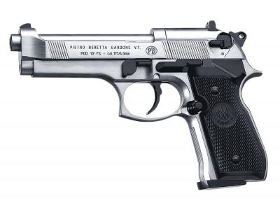 Pistolet co2 Umarex 92 FS nickelée