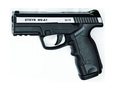 Pistolet co2 GNB STEYR M9A1 Bicolore 4.5mm