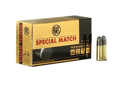 22LR RWS SPECIAL MATCH (boîte de 50)