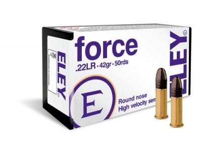 22LR ELEY FORCE 42gr (boîte de 50)