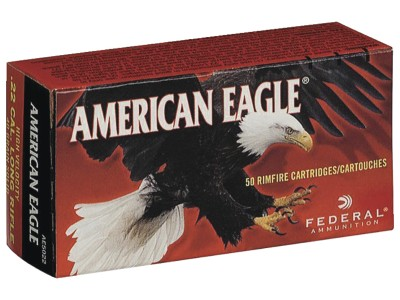 22LR FEDERAL AMERICAN EAGLE (boîte de 50)