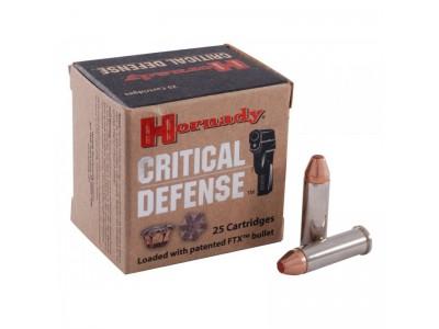 38SP FTX HORNADY CRITICAL DEFENSE (boîte de 25)