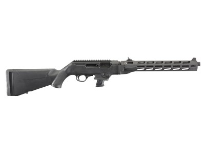 "RUGER PC CARBINE 9mm 16"" TAKEDOWN GARDE MAIN M-LOCK"