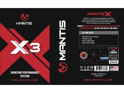 MANTIS X3 entraînement au tir