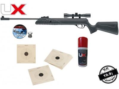 Pack carabine à air comprimé UMAREX SYRIX calibre 4,5mm 19,9 joules