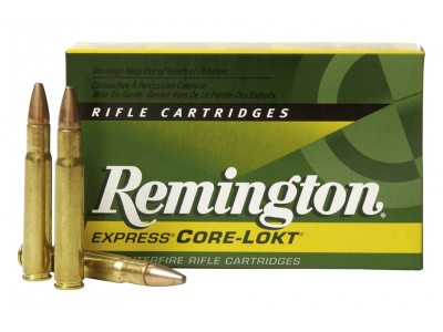 Cartouches Remington Core Lokt PSP calibre 30-06 180 gr
